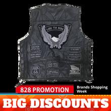 Мужская мотоциклетная куртка, Байкерская кожаная куртка из овечьей кожи, мотоциклетная куртка, мотоциклетная куртка