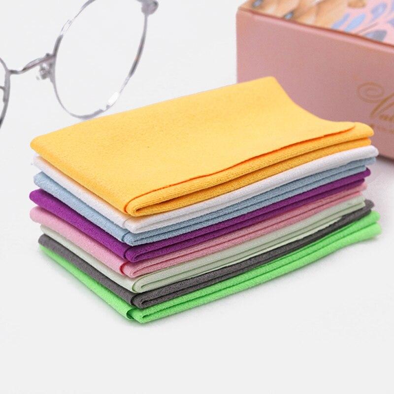 5 шт./лот, высококачественная ткань из микрофибры для чистки очков, для очистки линз, для очистки очков, для телефона