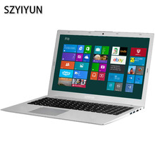 I5-8250U 8G RAM Intel Laptop Quad Core Russian Laser Keyboard 128G-1024G SSD Metal Shell 15.6 Inch Gaming Notebook Computer