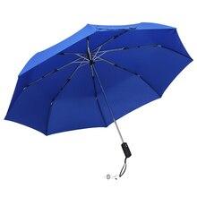 Folding Automatic Umbrella Wind Resistant Rain Women Windproof Umbrellas Auto Luxury Big Rain For Men Black Blue Wine Coating рубашка insight vector rain shirt oldy black out blue
