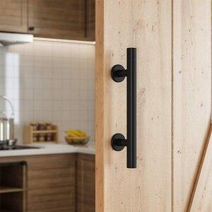 Деревенская мебель Гараж Прочный Замена сарая ворота смыва выдвижной сарай легко установить двухсторонняя ручка на дверь шкафа