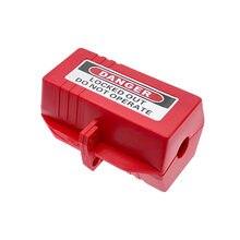 Plug caixa de bloqueio meio doméstico plugue industrial dispositivo de bloqueio ferramenta de segurança aparelho plug box bloqueio