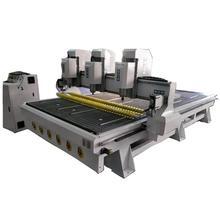 Цена от производителя роторный деревянный 3d фрезерный станок с ЧПУ/фрезерный станок с несколькими головками 1325 с ЧПУ 4 оси ножки стола гравировальный станок для резки