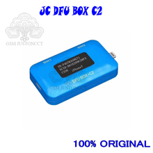 JC DFU BOX C2, reinicio de restauración de IOS, reinicio instantáneo del modelo SN ECID, lectura de información, pantalla de voltaje de corriente USB