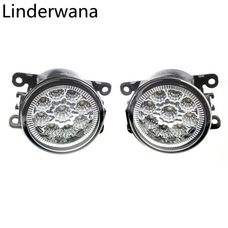 For Renault Fluence L30 2010-2015 Super Bright LED Fog Lights 9W 450LM Fog Lights Assembly 2pcs