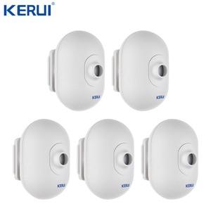 Image 1 - 5 sztuk KERUI P861 Mini wodoodporna PIR zewnętrzny czujnik ruchu dla KERUI bezprzewodowy Alarm bezpieczeństwa System antywłamaniowy