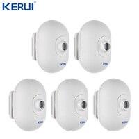 5PCS KERUI P861 Mini Waterproof PIR Outdoor Motion Sensor For KERUI Wireless Security Alarm Burglar Alarm System