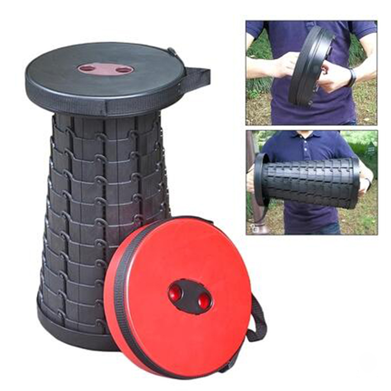 Shopify Dropshipping Fishing Camping  Retractable Stool Portable Retractable Stool Outdoor Safe