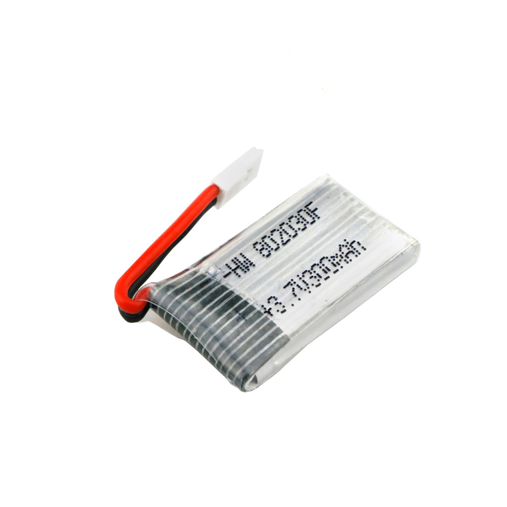 HIINST 1PCS <font><b>3.7V</b></font> <font><b>300mAH</b></font> <font><b>Lipo</b></font> <font><b>Battery</b></font> For Hubsan FQ777 FQ17W <font><b>Battery</b></font> 25c 702030 For RC Quadcopter Spare Parts image
