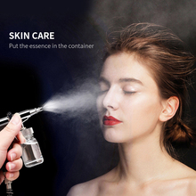 Гальваническая терапия кислородом для лица спа инъекция воды для лица салон красоты чистые маленькие пузырьки нано увлажнение омоложения кожи
