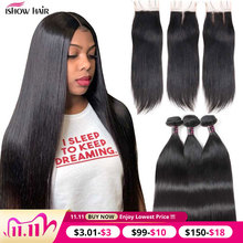 Mèches malaisiennes Non Remy Ishow Hair