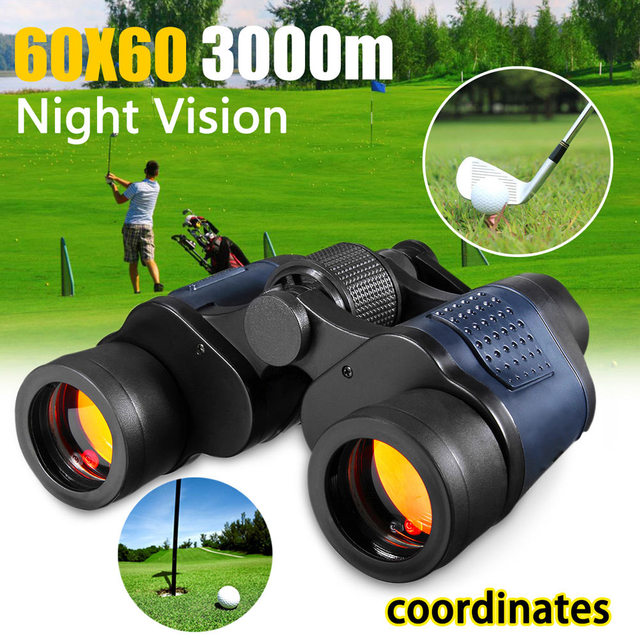 New Hot 60X60 Zoom Day/Night Vision Outdoor HD Binoculars Hunting Telescope with Case SMR88 2