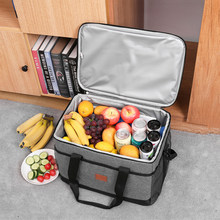 Grand sac isotherme pour l'extérieur, pour Camping, nourriture, thermosac pour femmes, pique-nique, boisson, fruits, collations, conservation de la fraîcheur, livraison, Pack isolé