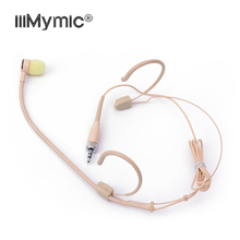 Perfect for Singing Concert !! 3.5 mm Lockable Headset Microphone Uni directional Condenser Mic for Sennheiser Wireless Bodypack