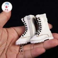 3สี1/6 Scaleหญิงซิปรองเท้าHollowรองเท้าสำหรับ12นิ้ว