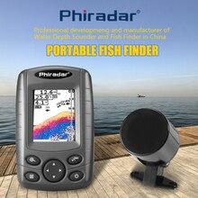 Phiradar FF188N Duel луч портативный цветной ЖК-прибор для обнаружения эхолокатор детектор индикатор глубины с сигнализацией русский