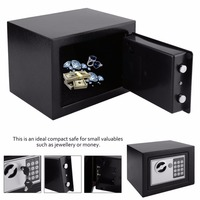 Digital Electronic Safe Box Home Office Jewelry Money Anti Theft Security Box caja seguridad 4.6L Professional Safety Box Home