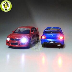 Image 3 - 1/32 Jackiekim Lancer Evo Ix 9 Rhd Diecast Model Auto Speelgoed Voor Kinderen Jongen Meisje Geschenken