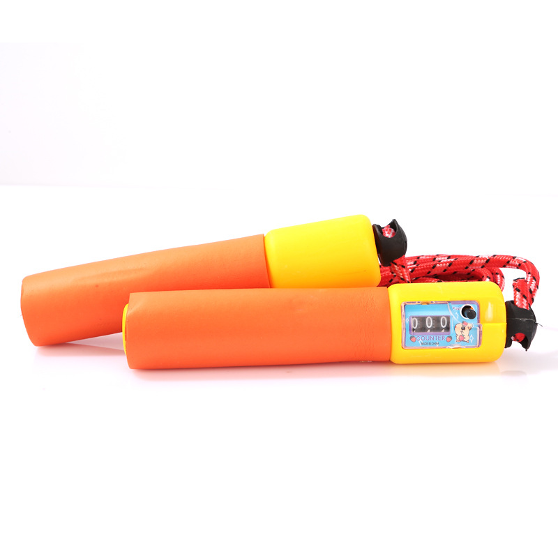 Special Offer Count Jump Rope Sponge To Jump Rope Bearing Jump Rope Count Long Jump Rope Steel Wire Jump Rope   Primary School S