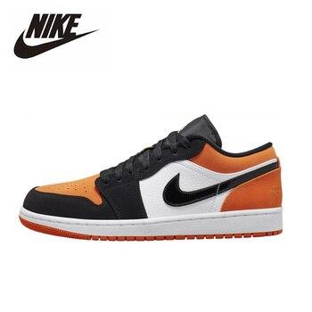 Nike Air Jordan 1 Low Shattered Backboard Basketball Shoes Men Women Outdoor Sneakers Sport Aj1 Shoes Big Size 36-47 553558-128