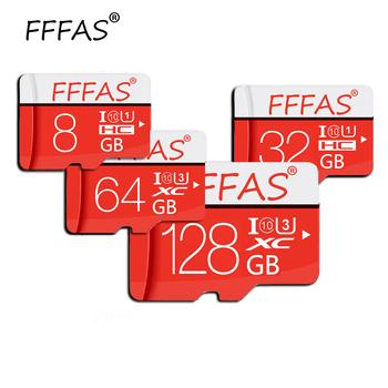 Wysokie obroty mikro karta SD 32GB karta SDHC SDXC TF 4GB 8GB 16GB 32GB 64GB 128GB karta microsd karta pamięci usb Flash bezpłatny adapter SD tanie i dobre opinie NoEnName_Null Tf micro sd card