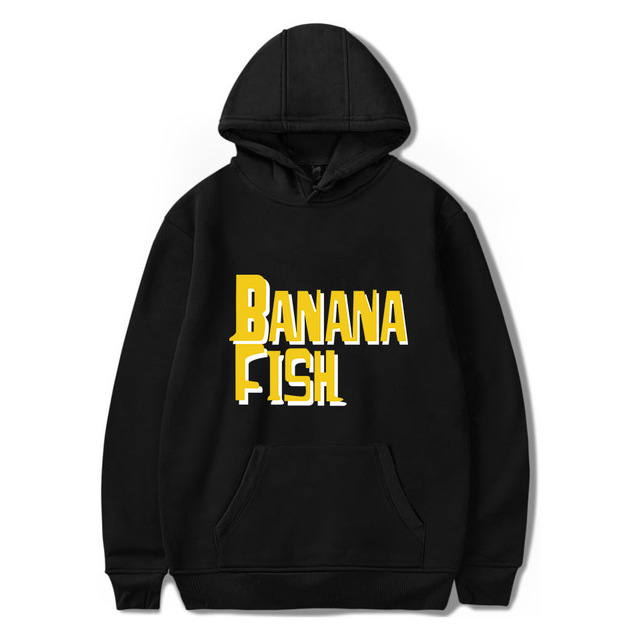 BANANA FISH THEMED HOODIE (30 VARIAN)