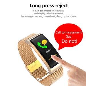 Image 4 - Smart Watch F4 Smart Bracelet Heart Rate Pulse Blood Pressure Monitor Sports Watch Waterproof Fitness Wristband Intelligent