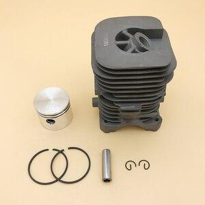 Image 2 - HUNDURE 41.1mm piła łańcuchowa cylinder i tłok assy dla partnera 350 Partner 351 benzyna części zamienne do piły łańcuchowej