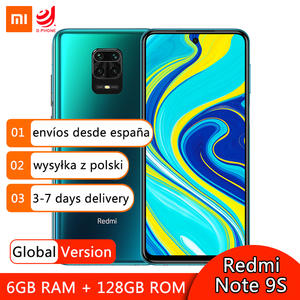 Xiaomi Snapdragon 720G Redmi Note-9s 128GB 6GB WCDMA/GSM/LTE Quick Charge 3.0 5g wi-fi/Bluetooth 5.0/Gorilla glass