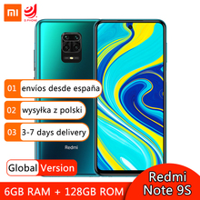 Global Version Xiaomi Redmi Note 9S 9 S 6GB 128GB Smartphone Snapdragon 720G Octa Core 48MP Quad Cameras 6.67″ Screen 5020mAh