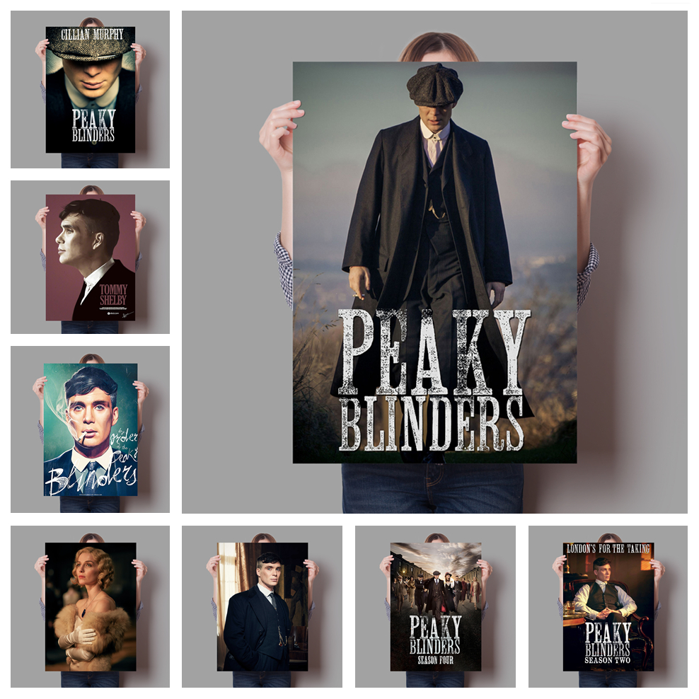 Peaky Blinders Film TV Movie Quality Wall Art Home Decor Canvas Painting Art Nordic Decoration Hotel Bar Cafe Room Room Poster