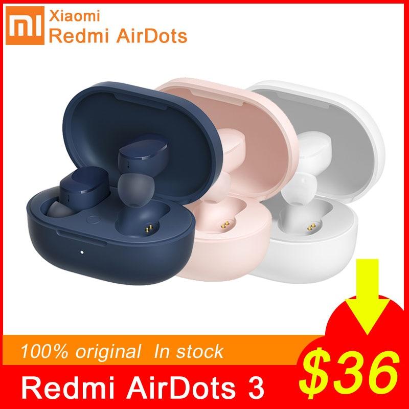 Беспроводные TWS-наушники Xiaomi Redmi AirDots 3, Bluetooth 5,2, aptX, с микрофоном