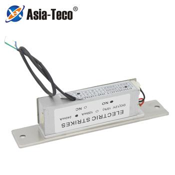 Stal nierdzewna DC 12V elektryczna blokada drzwi do systemu kontroli dostępu Fail safe lub Fail bezpieczny zamek elektryczny tanie i dobre opinie Asia-Teco ZA150AL