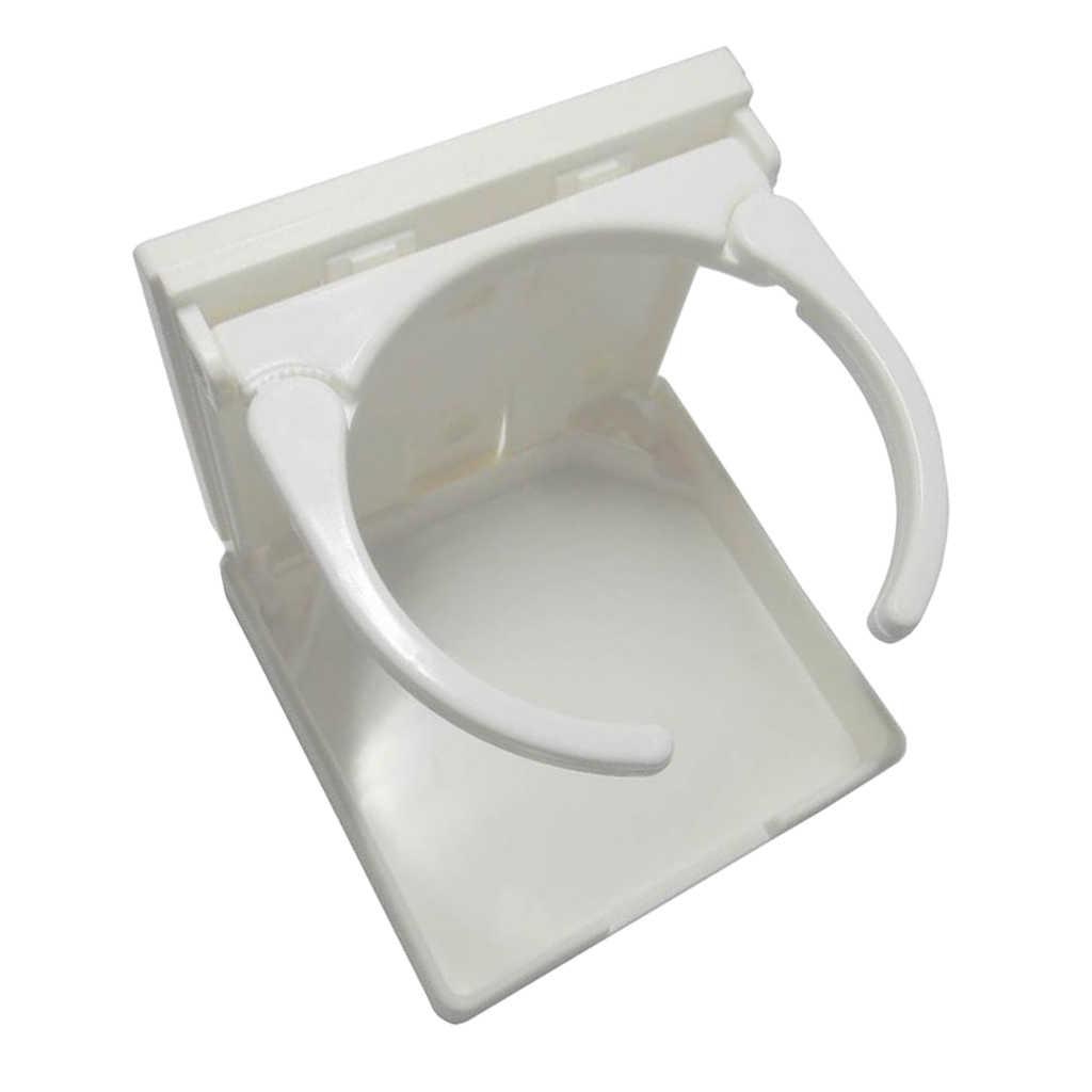 Boat Stainless Steel Adjustable Folding Drink Cup Holders for Caravan//Car US