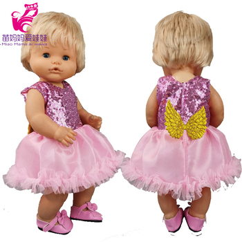 Nenuco doll clothes pink cake dress opa y su Hermanita baby doll coat children gift image
