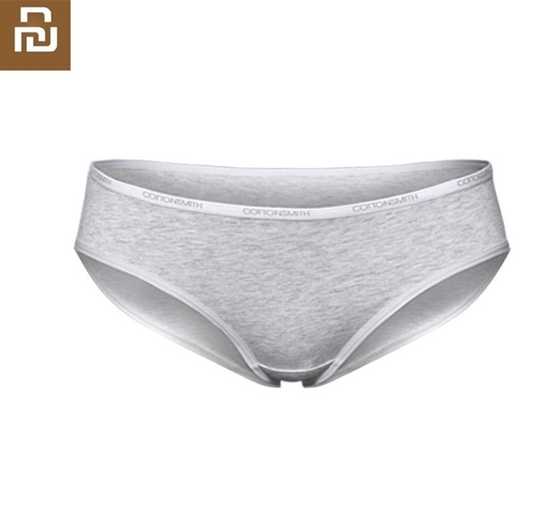 Youpin New Comfortable Women Underwear Miniature Window Dry Ladies Panties Quickly Wicking Dry Cotton Briefs