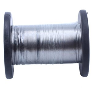 Image 1 - 30M 304 Stainless Steel Wire Roll Single Bright Hard Wire Cable 0.3Mm