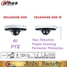 Dahua PTZ 네트워크 카메라 SD1A404XB GNR/SD1A404XB GNR W 얼굴 탐지 사람들 주변 보호 IP 보안 카메라를 계산