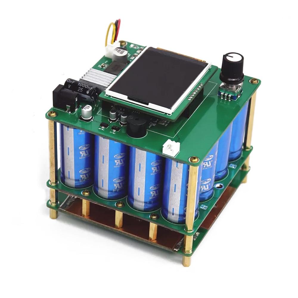 1600F Portable Spot Welder DIY Capacitor Pulse Spot Welding Machine 18650 Battery Pack Welding Controller For 0.25 Nickel Sheet
