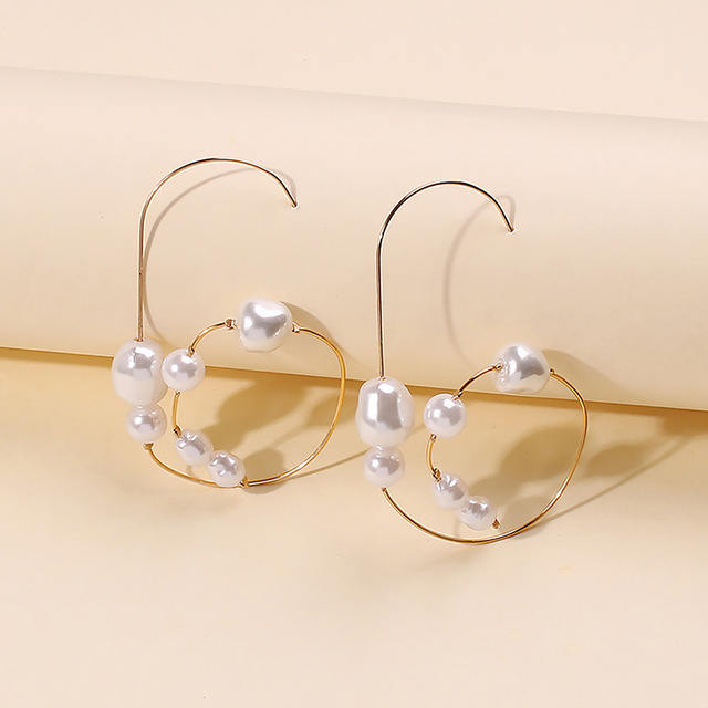 Baroque Irregular Pearl Earrings 4