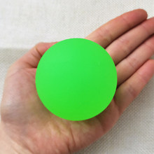 55MM Colorful Frosted Elastic Toy Balls Pinball Rubber Bouncing Bouncy Balls Outdoor Sports Games for Kids Children Baby