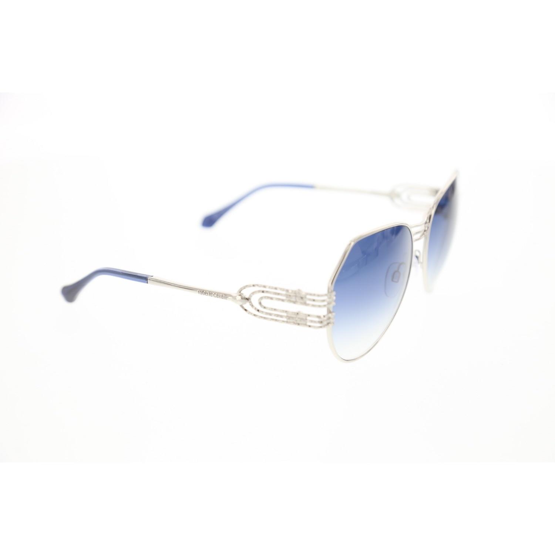 Women's sunglasses rc 1064 16w metal silver organic drop aval 58-16-135 roberto cavalli