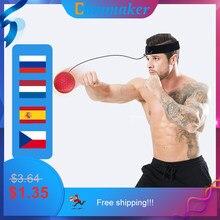 Punching bag Reflex Punch Sanda Boxer Raising Reaction Force Hand Eye Stress Gym Boxing Muay Punching Ball training ejercicio
