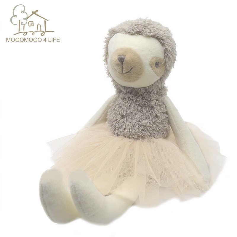 Luksusowe Mogo Ballerina lenistwo lalka księżniczka lenistwo lalka wypchane zwierzę dziecko lalka na prezent urodzinowy modna pluszowa zabawka poduszka dekoracyjna