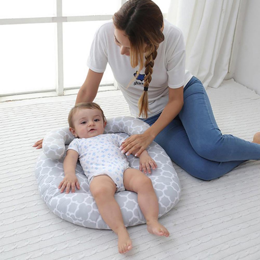 Portable Soft Baby Sleeping Carpet Pillow Newborn Play Game Mat Travel Blanket