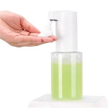 Intelligent Automatic Induction Foam Soap Dispenser Smart Infrared Sensor Foam Liquid Soap Dispenser Auto Hand Washer 350ML intelligent 250ml liquid soap dispenser automatic contactless induction foam infrared sensor hand washing device