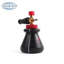 Volodymyr Car Washer Snow Foam Lance Pressure Washer Cannon Gun Black for Car Cleaning Detailing Detail Clean 2020 New Style