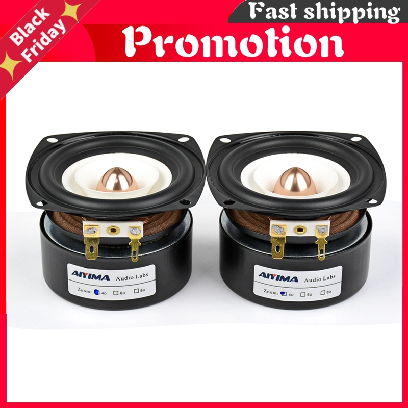 2Pcs 3Inch Audio Portable Speakers 4 Ohm 8 Ohm 15W Full Range Hifi Bass Speaker Altavoz Portatil Speaker DIY Home Theater