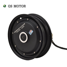 QS Motor 10*2.15inch 3000W 205 50H V3 single shaft hub motor BLDC motor in wheel hub motor for ectric scooter