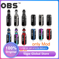 Original 80W OBS Cube VW Box MOD Batterie 3000mAh vs OBS Cube VW Vape Kit mit 4ml mesh Tank Zerstäuber Vape Box Mod Vs Drag 2
